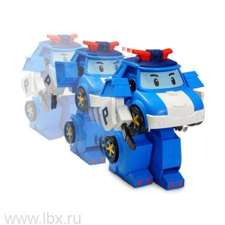 Робот-трансормер Поли на радиоуправлении 31 см, Robocar Poli (Робокар Поли)