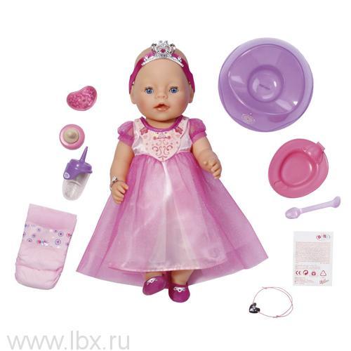 Интерактивная кукла Baby born `Принцесса`, Zapf Creation (Запф Криэйшн)