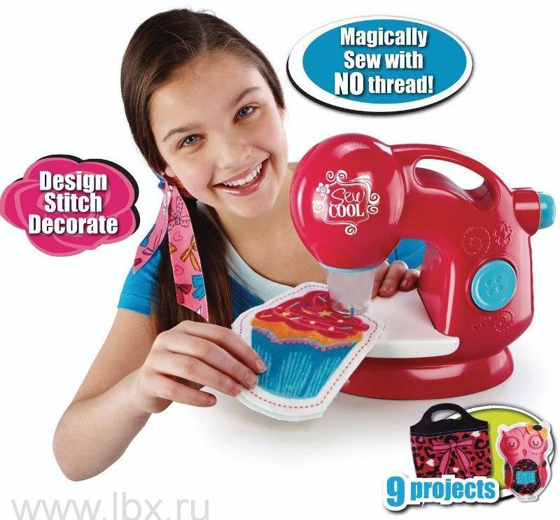 Детская швейная машинка, Sew Cool (Сью Кул)