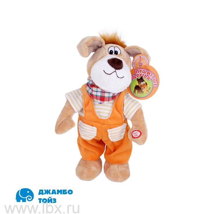 Собака мягкая `Пушистые друзья`  Jumbo Toys (Джамбо Тойз)