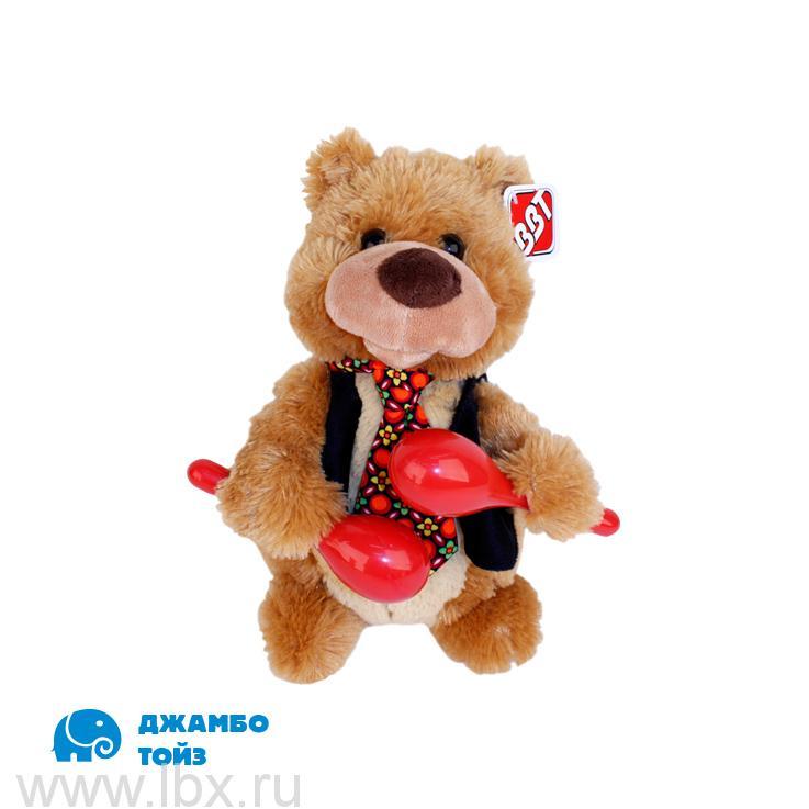 Медведь мягкий `Пушистые друзья` ,  Jumbo Toys (Джамбо Тойз)