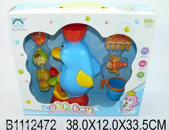 Набор игрушек для купания `Пингвин`,  Jumbo Toys (Джамбо Тойз)