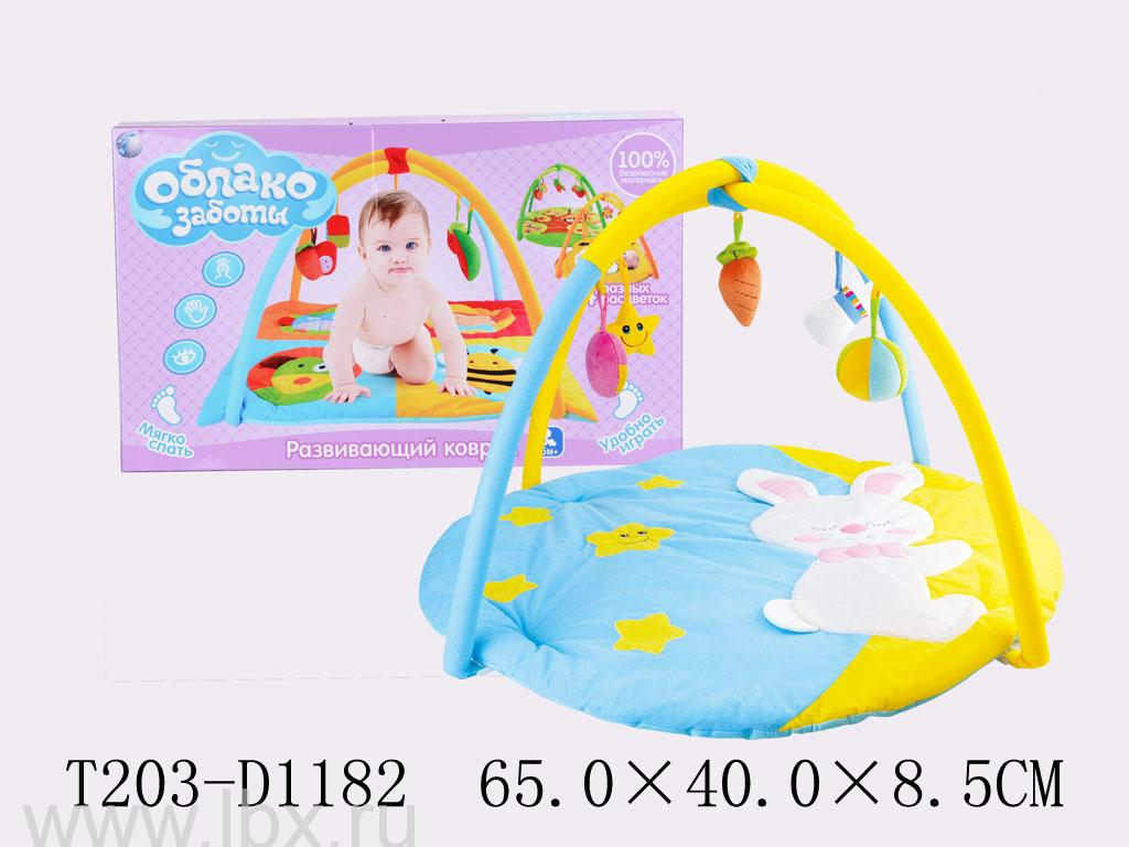 Развивающий коврик `Зайчик`,  Jumbo Toys (Джамбо Тойз)