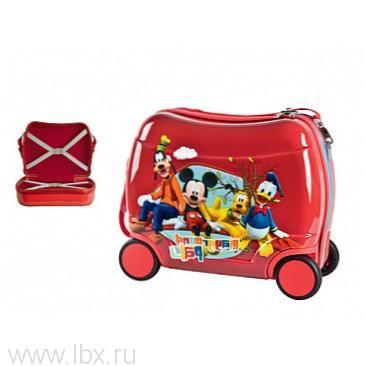 Чемодан 29810 детский на 4 колесиках, Disney (Дисней)