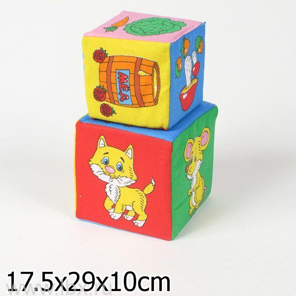 Набор из 2 кубиков`Мякиши` (Чье Лакомство)