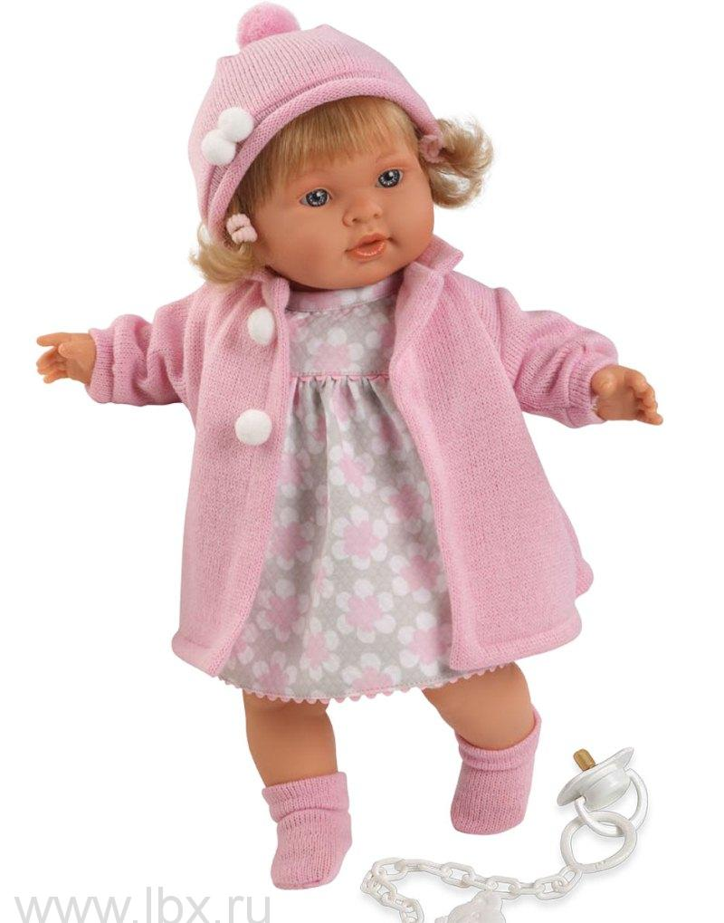 Кукла Валерия 42 см, Llorens (Лоренс)