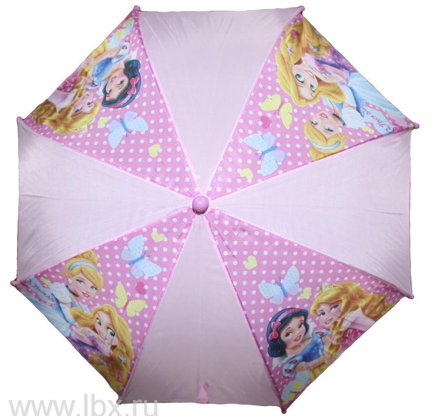 Princess зонт полуавтомат 2S-48/8 ПЭ WD7622 розовый Disney (Дисней)