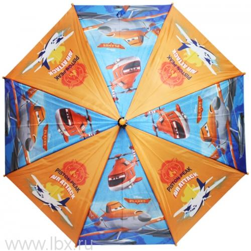 Planes зонт полуавтомат WD8276 синий Disney (Дисней)