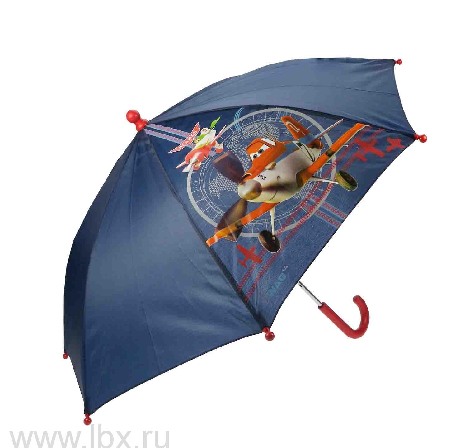 Planes зонт полуавтомат WD8277 оранжевый Disney (Дисней)