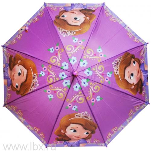 Sophia зонт полуавтомат 2S-48/8 ПЭ WD8160 Disney (Дисней)