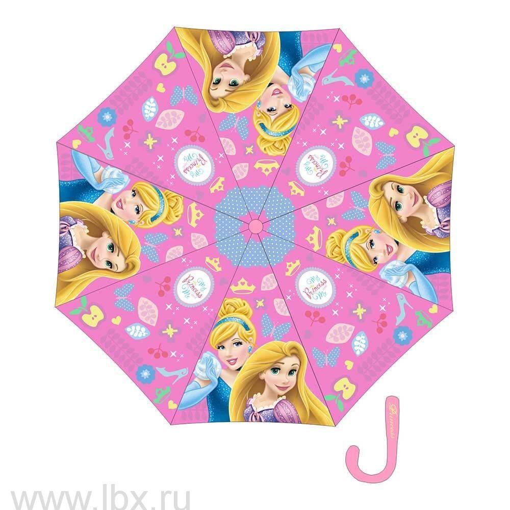 Princess зонт полуавтомат Disney (Дисней)- увеличить фото