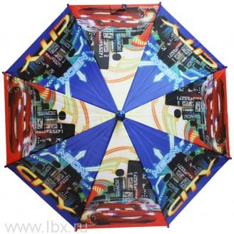 Cars зонт полуавтомат 2S-48/8 ПЭ WD8168 синий Disney (Дисней)