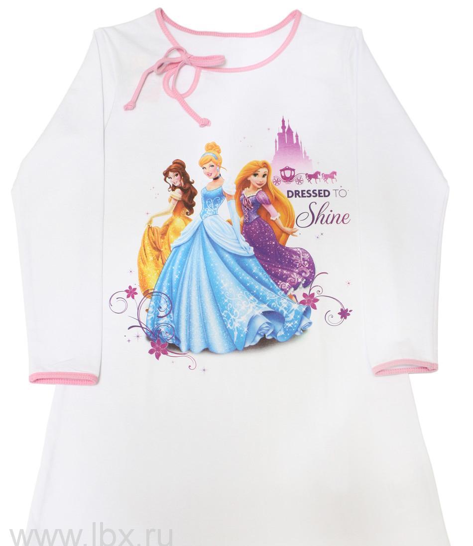 Ночная сорочка для девочки 108-Д Принцессы, МФ