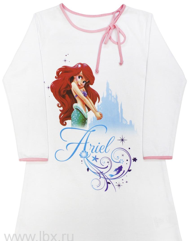 Ночная сорочка для девочки 108-ДРусалочка, МФ- увеличить фото