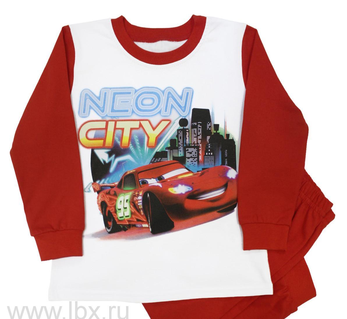 Пижама для мальчика Disney 107-МNeon City, МФ