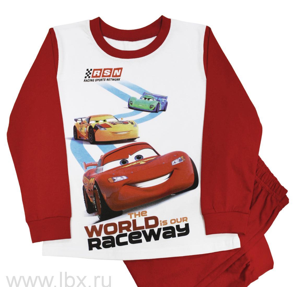 Пижама для мальчика Disney 107-М World Raceway, МФ- увеличить фото