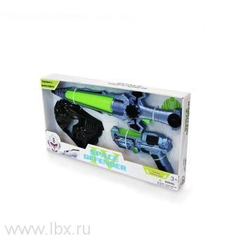 Игровой набор Космический меч, пистолет, маска, Space Defender (Спейс Дефендер)