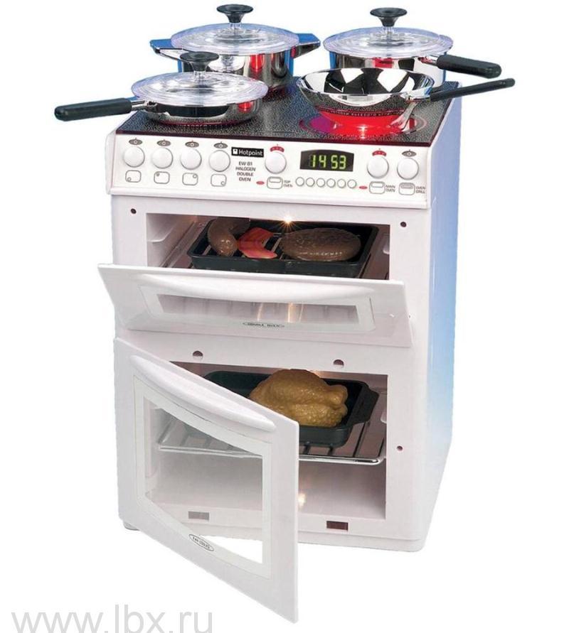 Детская кухонная плита `Hotpoint` с аксессуарами, Casdon (Каздон)