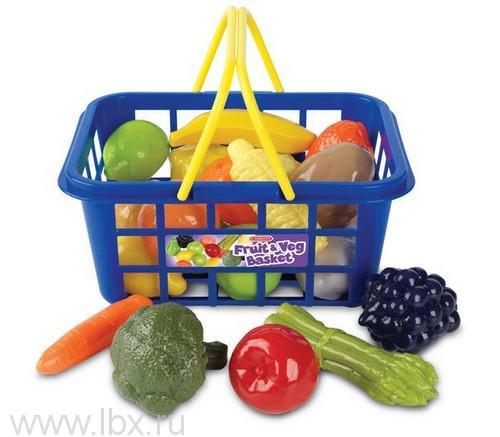 Игровой набор `Корзина с фруктами и овощами`, Casdon (Каздон)