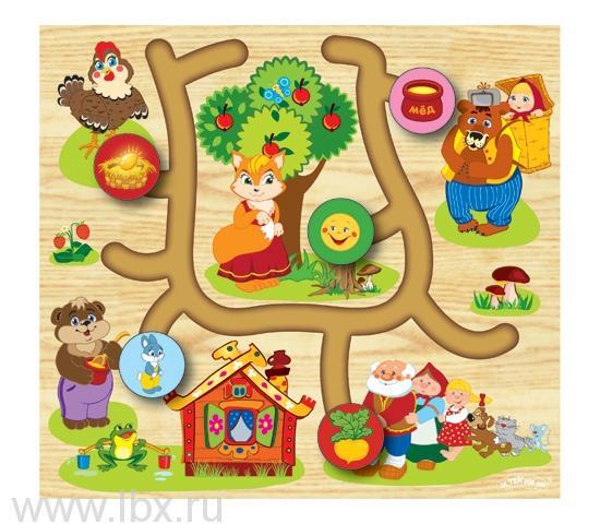 Логическая игрушка `Лабиринт Сказки-2`, Затейники