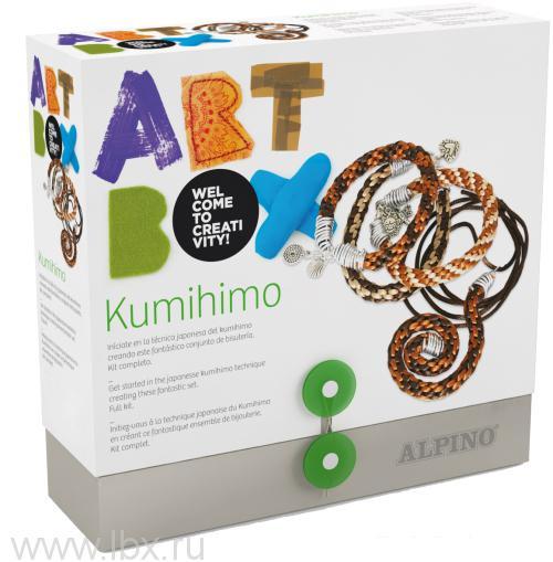 Набор для рукоделия `Кумихимо`, Alpino (Алпино)