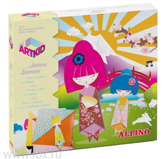 Набор для детского творчества `Куклы-оригами`, Alpino (Алпино)