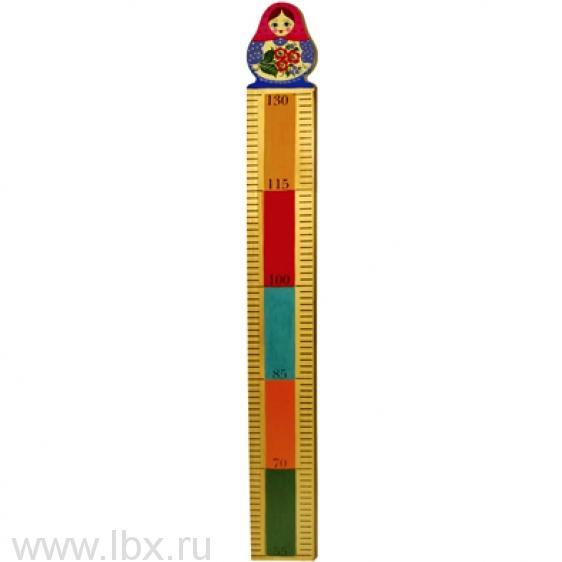 Ростомер `Матрешка`, Хохломская роспись