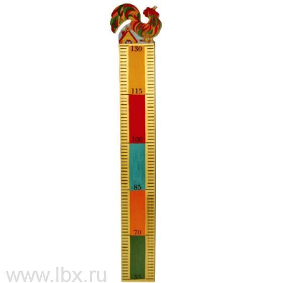 Ростомер `Петушок`, Хохломская роспись