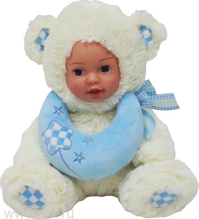 Кукла Anna De Wailly (Анна Де Вейли)  Медвежонок с луной 25см