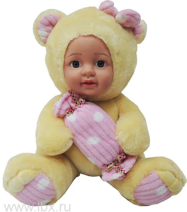 Кукла Anna De Wailly (Анна Де Вейли)   Медвежонок с конфеткой 33см
