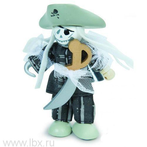 Кукла Budkins Пират Призрак, Le Toy Van (Ле Той Ван)