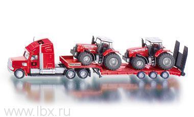 Тягач с 2 тракторами, Siku (Сику)