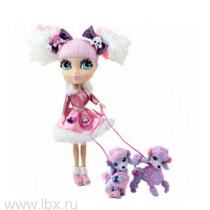 Кукла Делия сдалматинцами Кьюти Попс Лондон-Париж Jada Toys (Яда тойз)