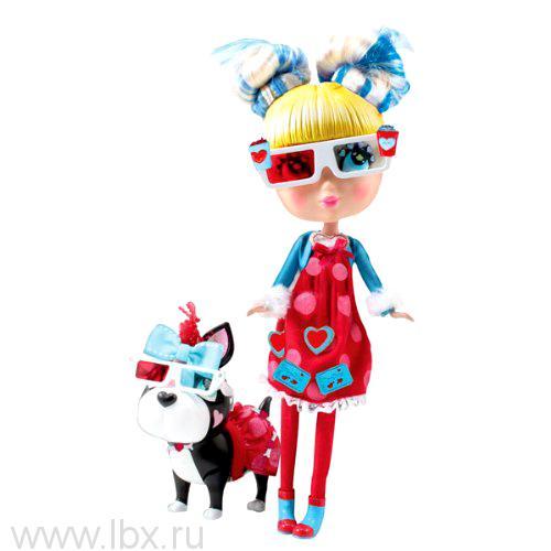 КуклаСтар с собачкой и аксессуарами Кьюти Попс Лондон-Париж Jada Toys (Яда тойз)