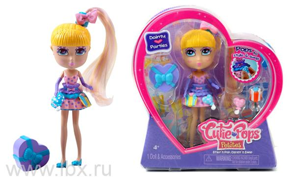 Кукла Дайнти с аксессуарами для вечеринки Кьюти Попс-Мини Jada Toys (Яда тойз)
