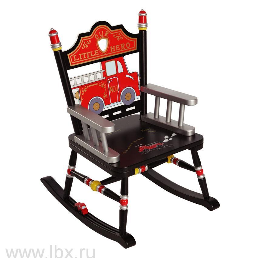 Детское кресло-качалка `Пожарный`, Levels of Discovery (Левелс оф Дискавери)