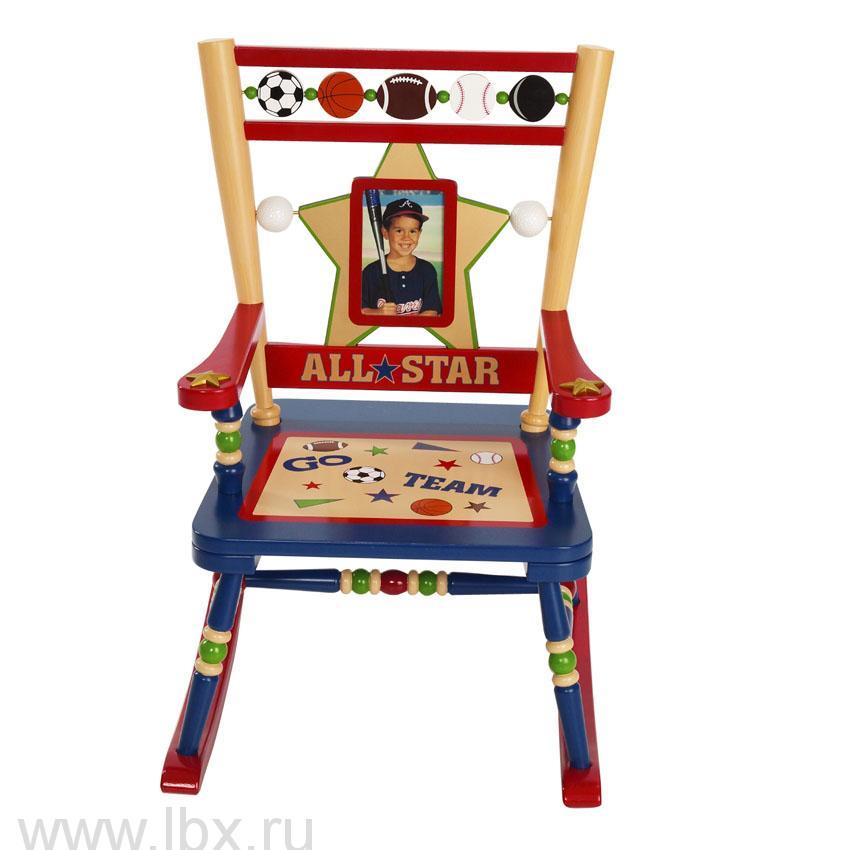Детское кресло-качалка `Звезды спорта`, Levels of Discovery (Левелс оф Дискавери)