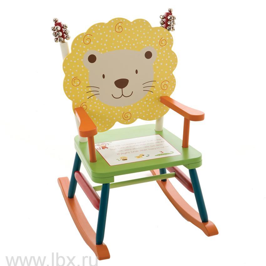 Детское кресло-качалка `Звенящие джунгли`, Levels of Discovery (Левелс оф Дискавери)