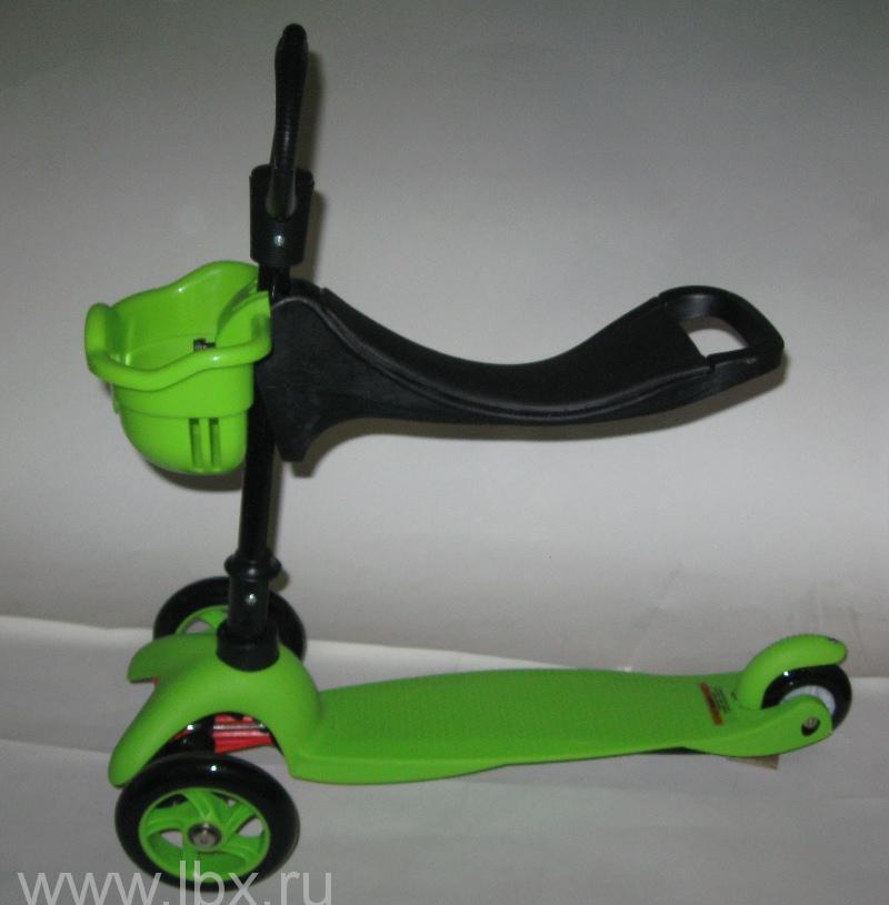 Самокат - Беговел трехколесный 3 в 1, Jumbo Toys (Джамбо Тойз)
