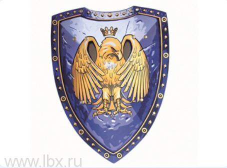 Синий щит с коронованным орлом, Liontouch (Лионтач)