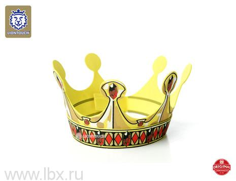 Золотая коронас орнаментом (ромбы), Liontouch (Лионтач)