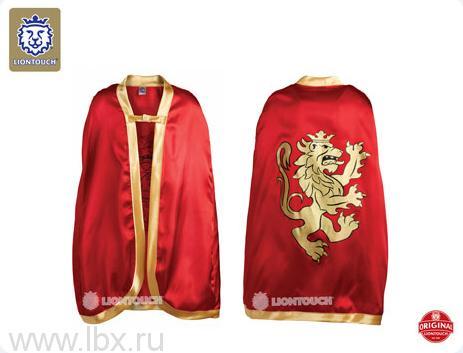 Красный плащ с коронованным золотым львом, Liontouch (Лионтач)