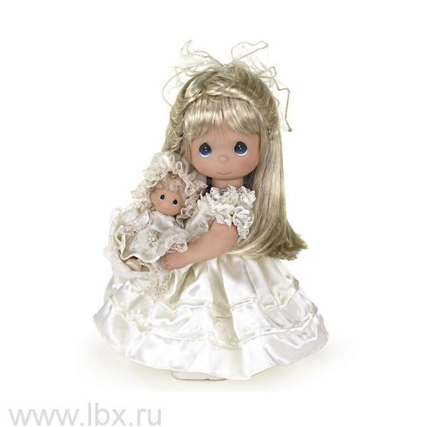 Кукла `Мамина любовь` блондинка 30 см, Precious Moments (Драгоценные Моменты)