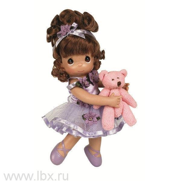 Кукла `Танцуй со мной` брюнетка 21 см, Precious Moments (Драгоценные Моменты)