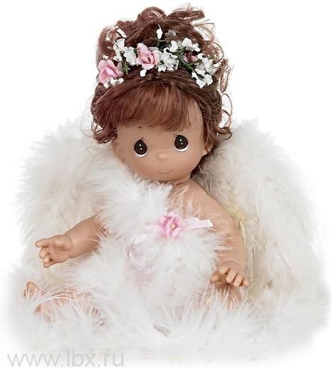 Кукла `Ангелочек`, Precious Moments (Драгоценные Моменты), брюнетка