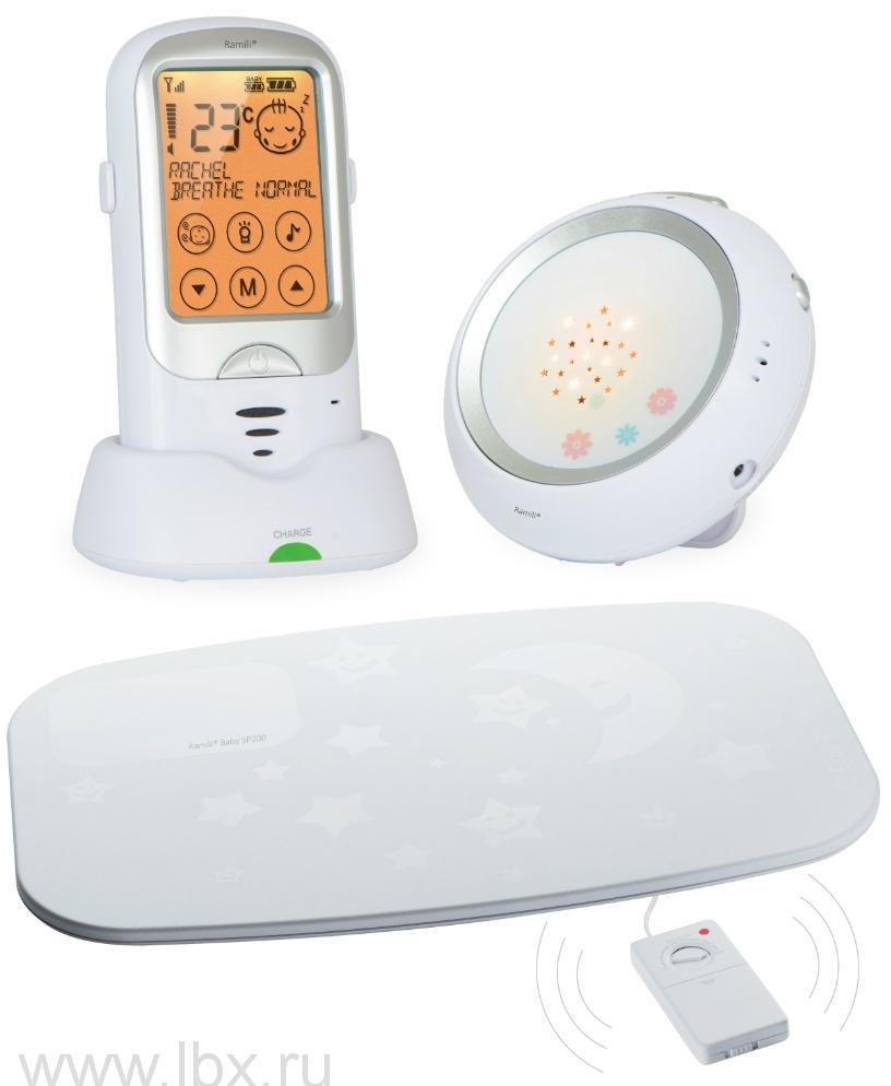Радионяня Ramili Baby с монитором дыхания RA300SP, Ramili (Рамили)