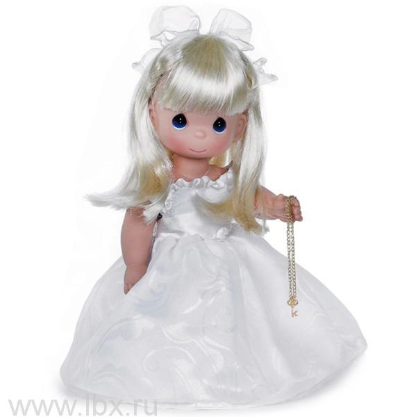 Кукла `Ключ к моему сердцу` блондинка 30 см, Precious Moments (Драгоценные Моменты)