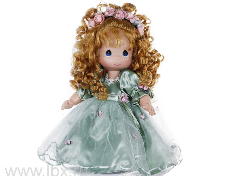 Кукла `Красотка` рыжая 30 см, Precious Moments (Драгоценные Моменты)- увеличить фото