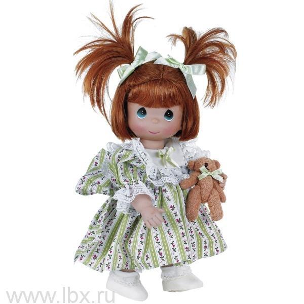 Кукла `Друзья насвегда` рыжая 30 см, Precious Moments (Драгоценные Моменты)- увеличить фото