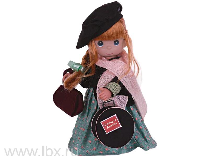 Кукла `Путешественница (Ирландия)` 30 см, Precious Moments (Драгоценные Моменты)- увеличить фото